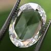 3.60ct Oval Rose Cut Diamond GIA I VS 22
