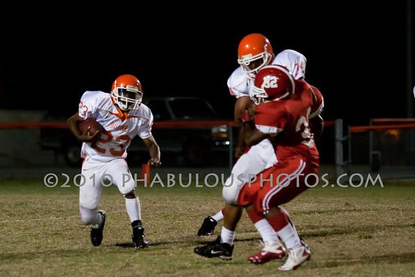Edgewater @ Boone JV Football - 2010