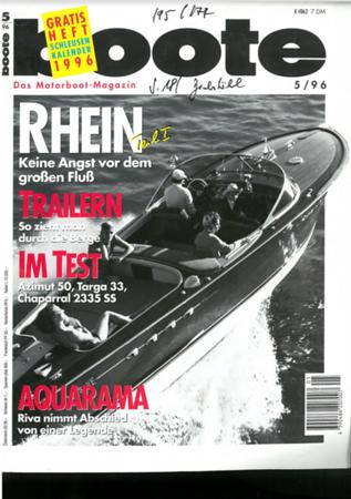 Boote Magazin 5/96