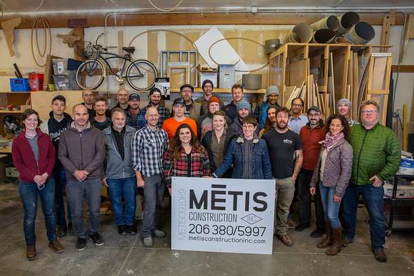Metis Construction Team Photo - November 2018