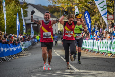 Marathon Eryri - Finish Photographs between 2.45 and 3.15pm