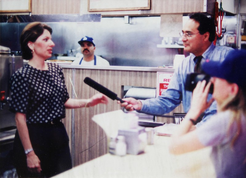 1998, Nancy Being Interviewed