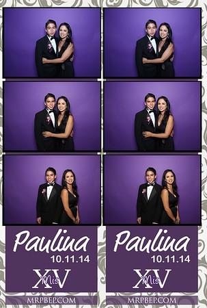Paulina's XV   Oct. 11th 2014