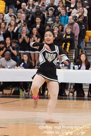 02-04-2012 Poolesville HS Division #2 Poms Championship at Richard Montgomery HS, Photos by Jeffrey Vogt Photography