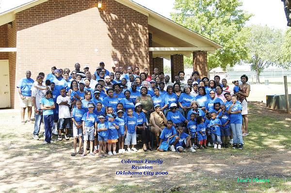 Coleman Family Reunion 2006