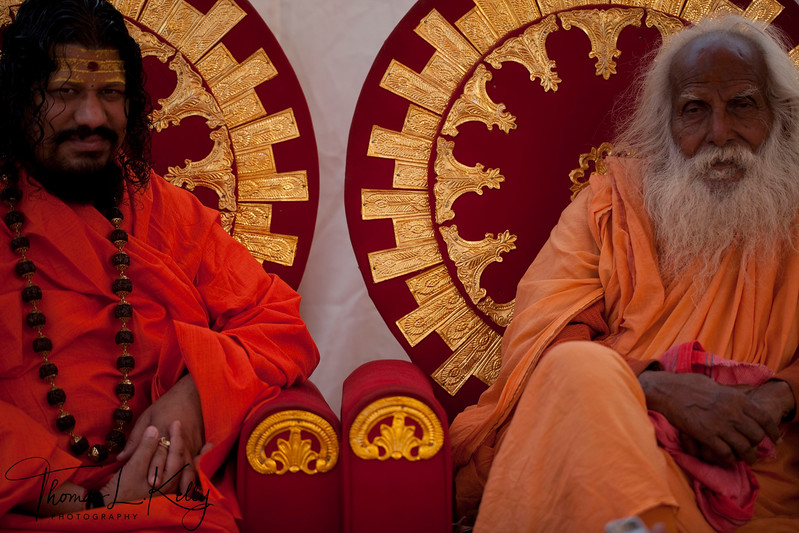 107 years old, Gopala Nandaji. Kumbha Mela in Allahabad, India.