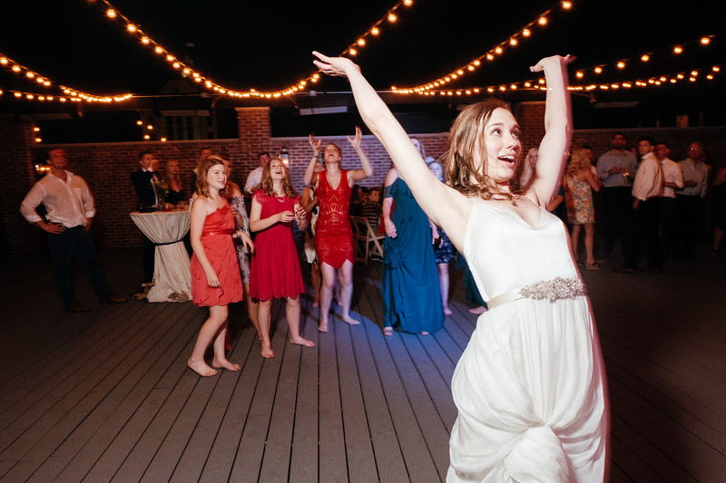 A Rooftop Reception