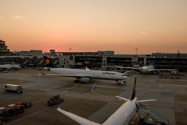 Frankfurt airport | 法蘭克福機場