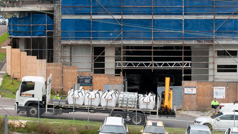 Building progress 153. At 47 Beane St. Gosford. November 2018.