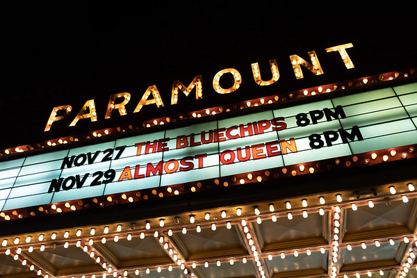 THE BLUECHIPS @ THE PARAMOUNT 11/27/19