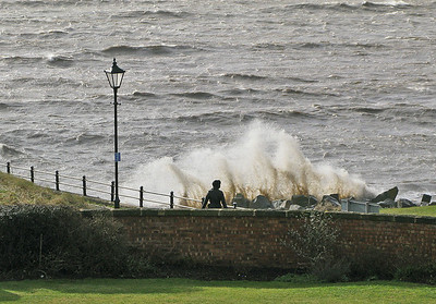 Lytham - High tides at Fairhaven
