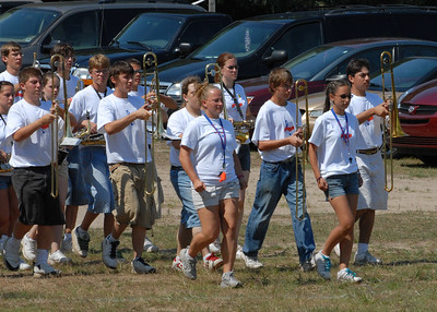 Photo's by Dennis - 8/27/06 Lincoln Park H.S. Band Camp at Blue Lake Fine Arts Camp