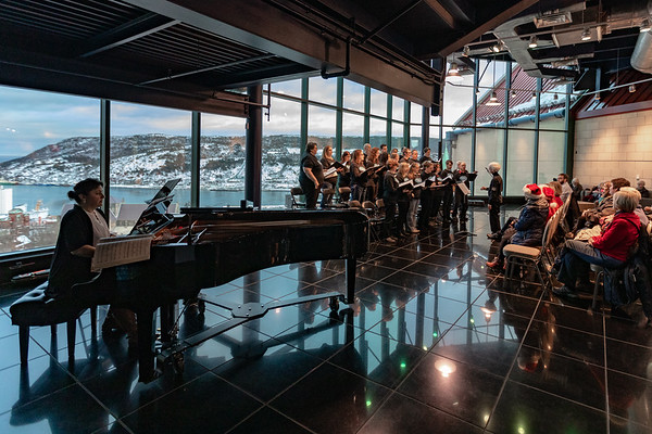 2018 Inclusion Choir Xmas at The Rooms