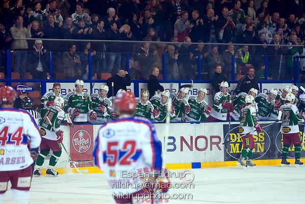 Q1: Vålerenga Ice Hockey -at- Frisk Asker Tigers (25.2.09)