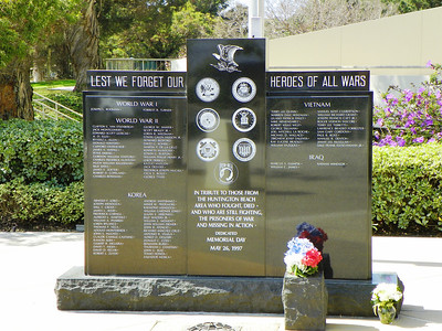 Huntington Beach Vet Memorial