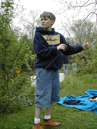 BOY SCOUTS rafting 5-2003