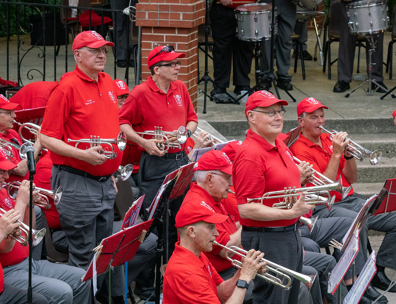 Veterans in the band