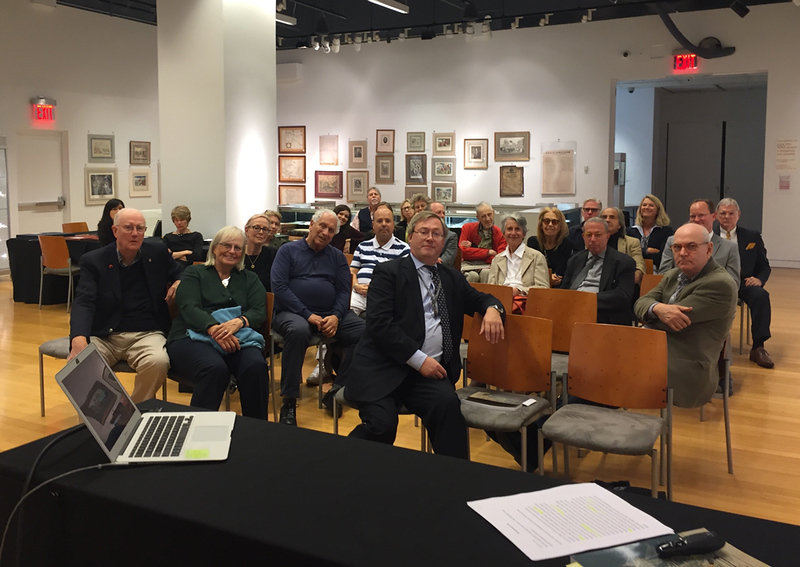 My talk at Bonhams, New York City, September 24, 2018. The audience.
