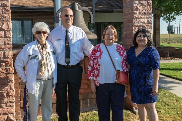 2018-09-08 Clark Hose Bell Dedication Ceremony