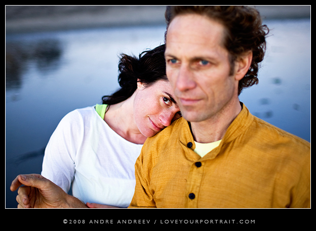 Christina and Richards Engagement Session in Santa Monica by Andre Andreev, www.loveyourportrait.com