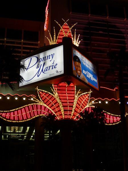Flamingo hotel display, Las Vegas