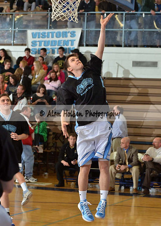 Boys Varsity Basketball - Corunna at Lansing Catholic - Feb 3