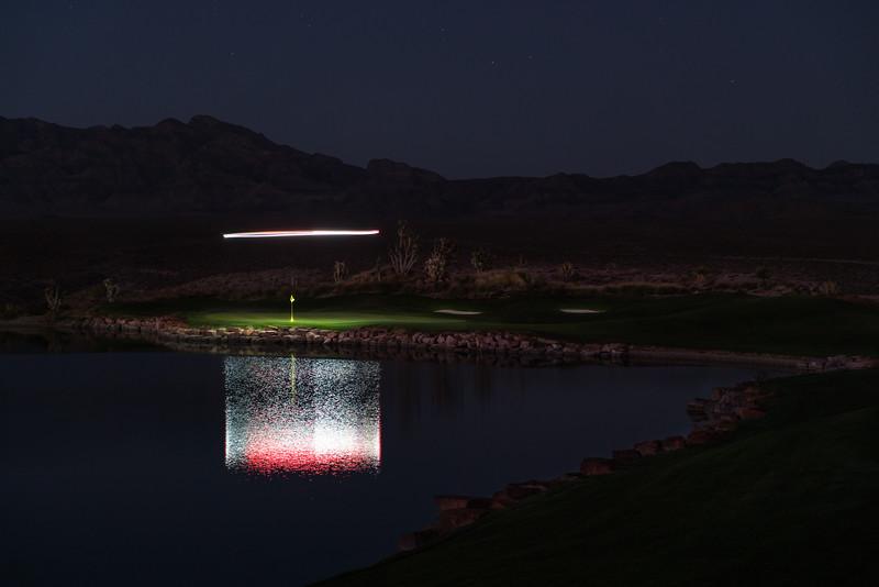 Golf Illuminated at Paiute Golf Resort