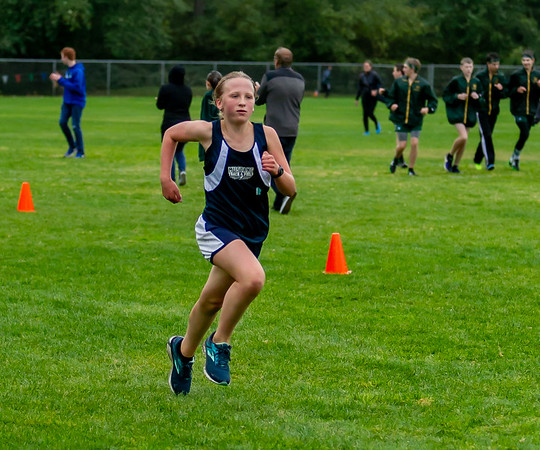 The Finishes, Set two:  Middle School Girls Cross Country Nisqually Meet 2 10/02/2018