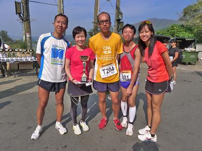 20121104 Green half marathon