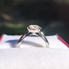French Cut Diamond Solitaire, by Single Stone 6