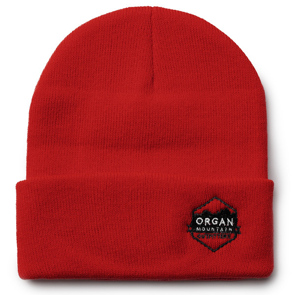 Outdoor Apparel - Organ Mountain Outfitters - Hat - 12 Inch Knit Beanie - Lobo Red.jpg
