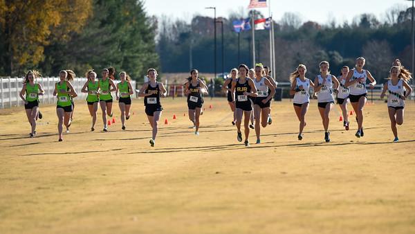 2020 RJR Forsyth County Meet, Girls Race 2