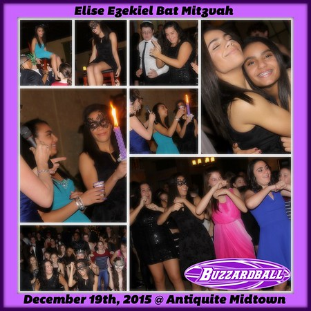 DECEMBER 19TH, 2015 | Elise Ezekiel Bat Mitzvah