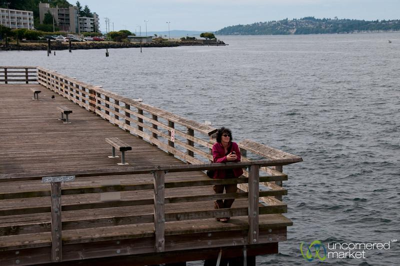 Friend Waiting in West Seattle