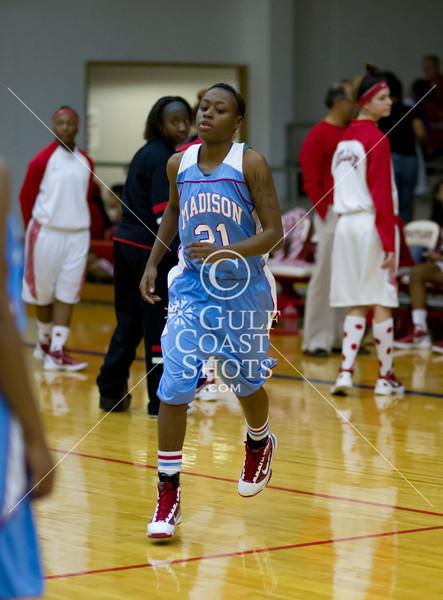 2012-01-06 Basketball Varsity Girls Bellaire v Madison