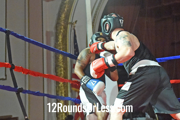 Bout 15=Main Event John McGinnis, Rising Dragon MMA, Cleveland -vs- Steve Spinelli, Old Angle BC, Aurora, 185 lbs, Masters