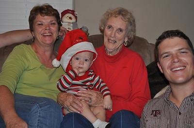 Marshall's first Christmas