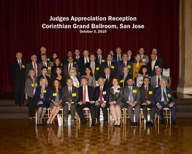 October 3, 2019 Judges Appreciation Reception