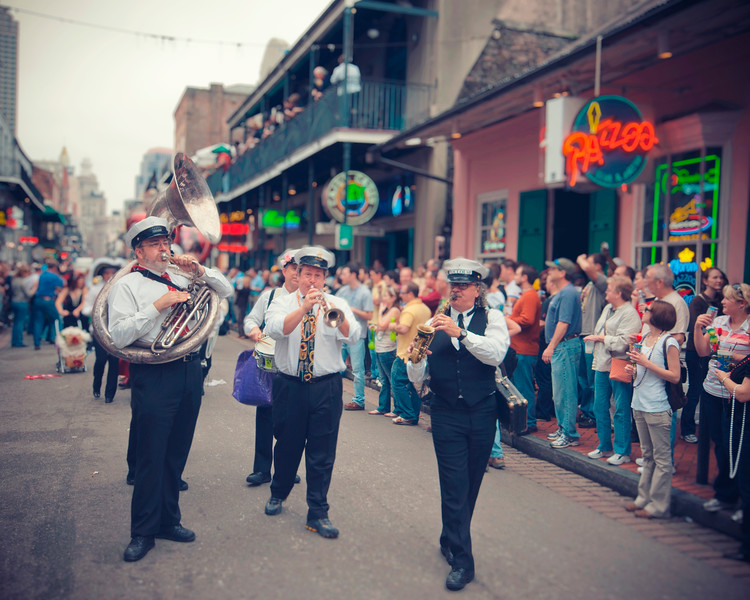 Second Line on Bourbon