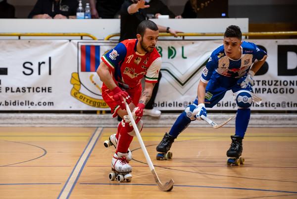 Correggio Hockey vs Hockey Valdagno