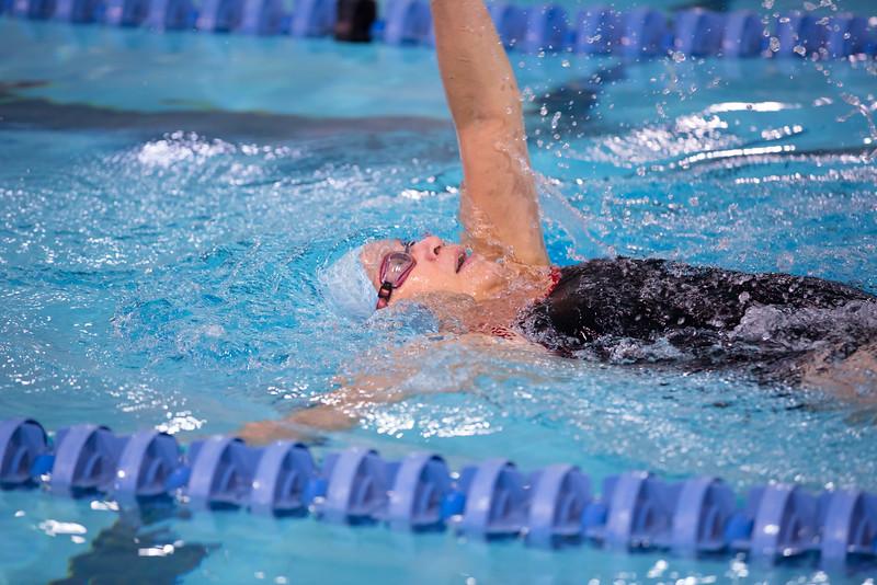 Wenda Dicken's 100 IM Backstroke