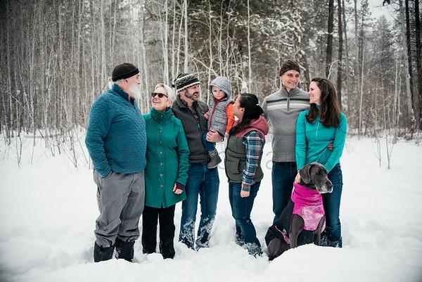 A Shevlin Family Snow Day