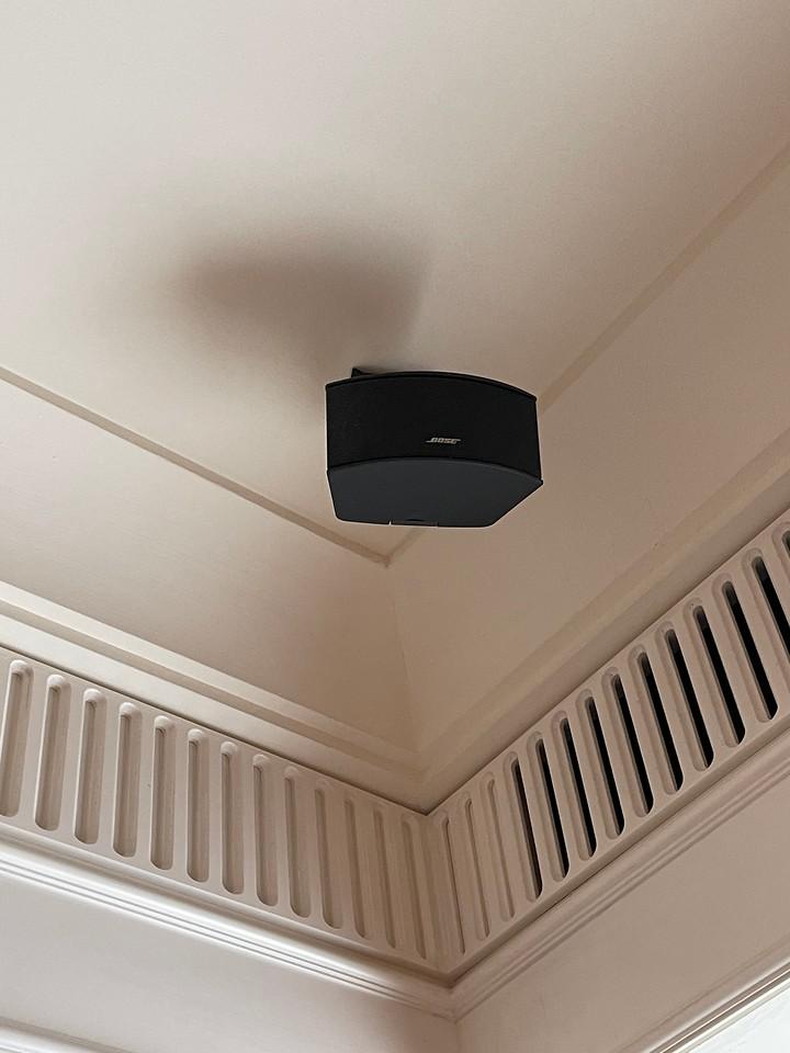 Bose Speaker System in the room