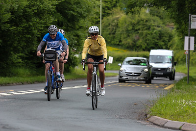 Caerphilly Mountain Descent  15:10 - > Last riders and the race convoy