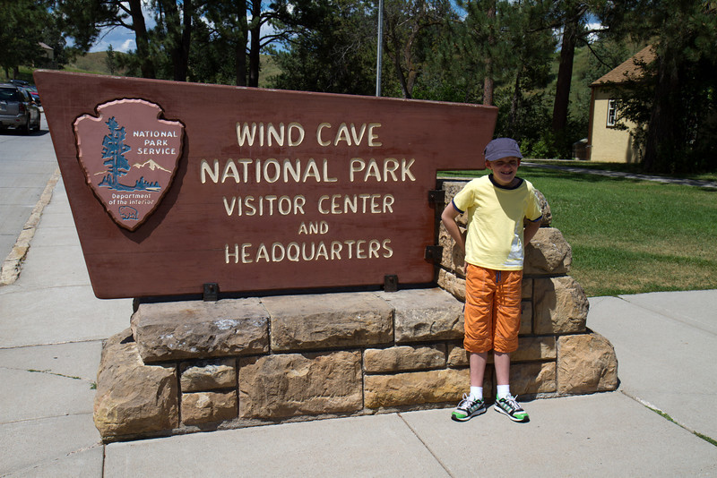 Henry at Wind Cave