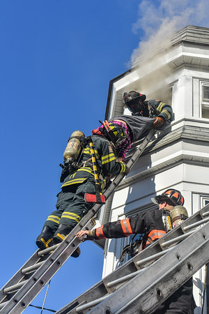 2 Alarm Structure Fire - Holt St, Fitchburg, Ma - 10/14/19