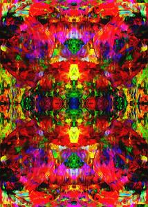 """Futurespeed Lion 13"" (digital media) by Elaine Chao"