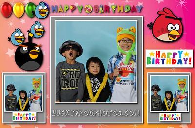 Ethan 10th Birthday March 3rd 2013
