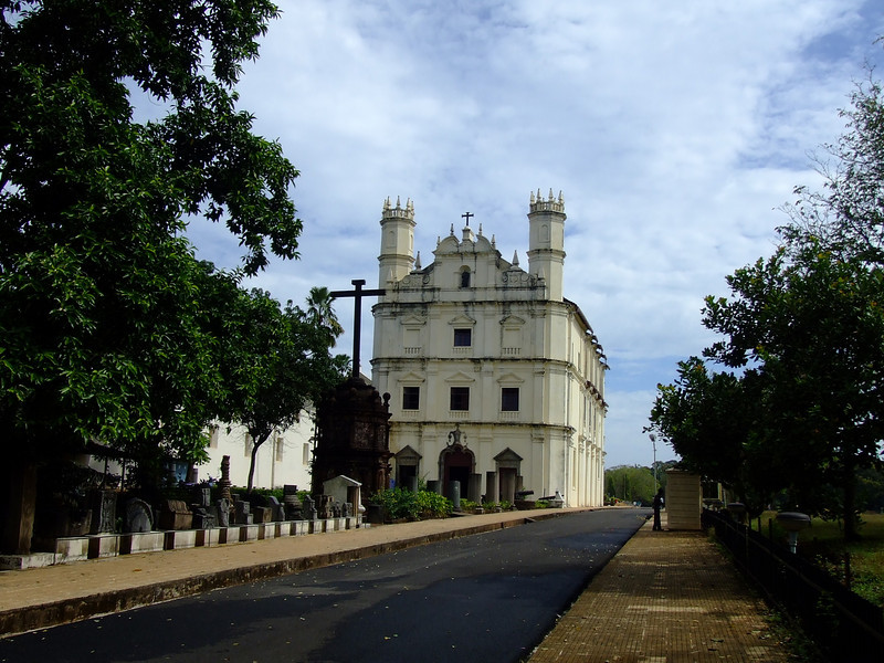 St Francis of Assisi, Old Goa.  About 25% of the people in Goa are Catholic