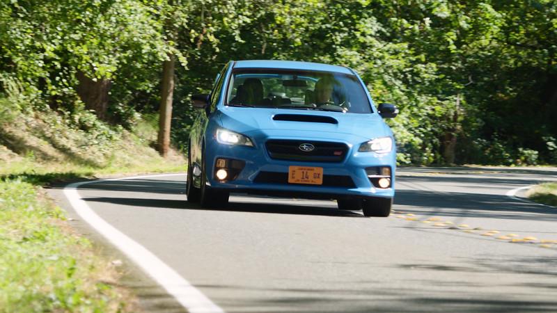 2016 Subaru WRX STI Series.HyperBlue Reel